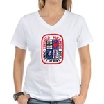 Riverside Paramedic Women's V-Neck T-Shirt