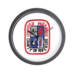 Riverside Paramedic Wall Clock