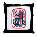 Riverside Paramedic Throw Pillow