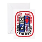 Riverside Paramedic Greeting Cards (Pk of 10)