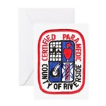 Riverside Paramedic Greeting Card