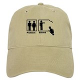 Man's Problem Solved Baseball Cap