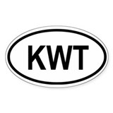 Kuwait Oval Decal