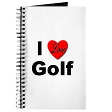 I Love Golf for Golfers Journal