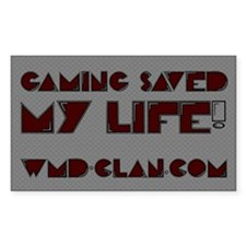 Gaming Saved My Life! (Rectangular)