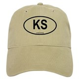 Kyrgystan Oval Baseball Cap