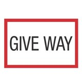 Give Way Postcards (Package of 8)