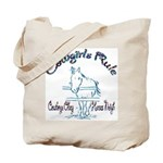Cowgirl's Rule Cowboy's Obey Tote Bag