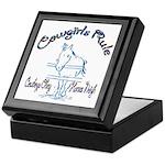 Cowgirl's Rule Cowboy's Obey Keepsake Box