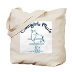 Cowgirl's Rule Tote Bag
