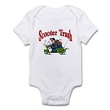 Scooter Trash Onesie