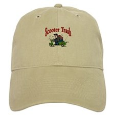 Scooter Trash Baseball Cap