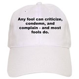 Dale carnegie quote Baseball Cap