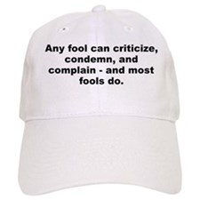 Carnegie quotation Baseball Cap