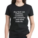 Carnegie quotation Tee