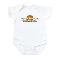 Indiana Basketball Mommy Infant Bodysuit
