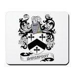 Davenport Coat of Arms Mousepad