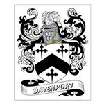 Davenport Coat of Arms Small Poster