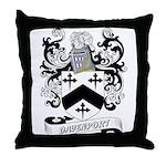 Davenport Coat of Arms Throw Pillow
