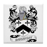 Davenport Coat of Arms Tile Coaster