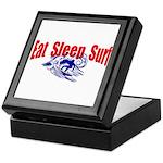 Eat Sleep Surf Keepsake Box
