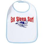 Eat Sleep Surf Bib