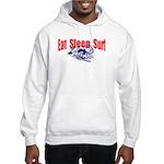 Eat Sleep Surf Hooded Sweatshirt