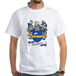 Delancey Coat of Arms White T-Shirt