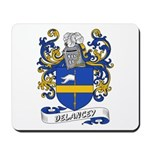 Delancey Coat of Arms Mousepad