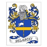 Delancey Coat of Arms Small Poster