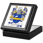 Delancey Coat of Arms Keepsake Box