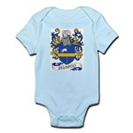 Delancey Coat of Arms Infant Creeper