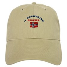 #1 Norwegian Grandpa Baseball Cap