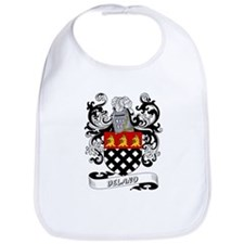 Delano Coat of Arms Bib