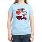 I Love 2 Scoot Women's Light T-Shirt