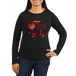 I Love 2 Scoot Women's Long Sleeve Dark T-Shirt