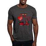 I Love 2 Scoot Dark T-Shirt