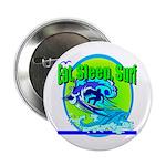Eat Sleep Surf Button
