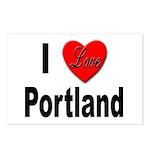 I Love Portland Postcards (Package of 8)