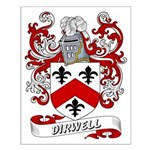 Dirwell Coat of Arms Small Poster