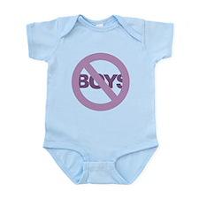 No Boys Infant Bodysuit