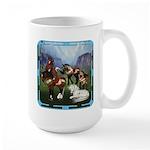 All the Pretty Little Horses Large Mug