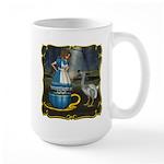 Alice in Wonderland Large Mug