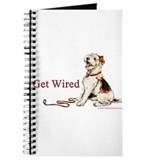Wire Fox Terrier Dog Walk Journal