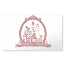 Aurora's Bed & Breakfast Rectangle Decal