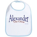 Alexander the great Cotton Bibs