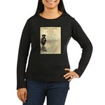Wanted Cherokee Bill Women's Long Sleeve Dark T-Sh