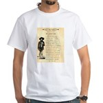 Wanted Cherokee Bill White T-Shirt