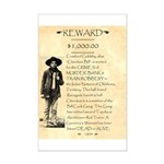 Wanted Cherokee Bill Mini Poster Print