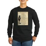 Wanted Cherokee Bill Long Sleeve Dark T-Shirt